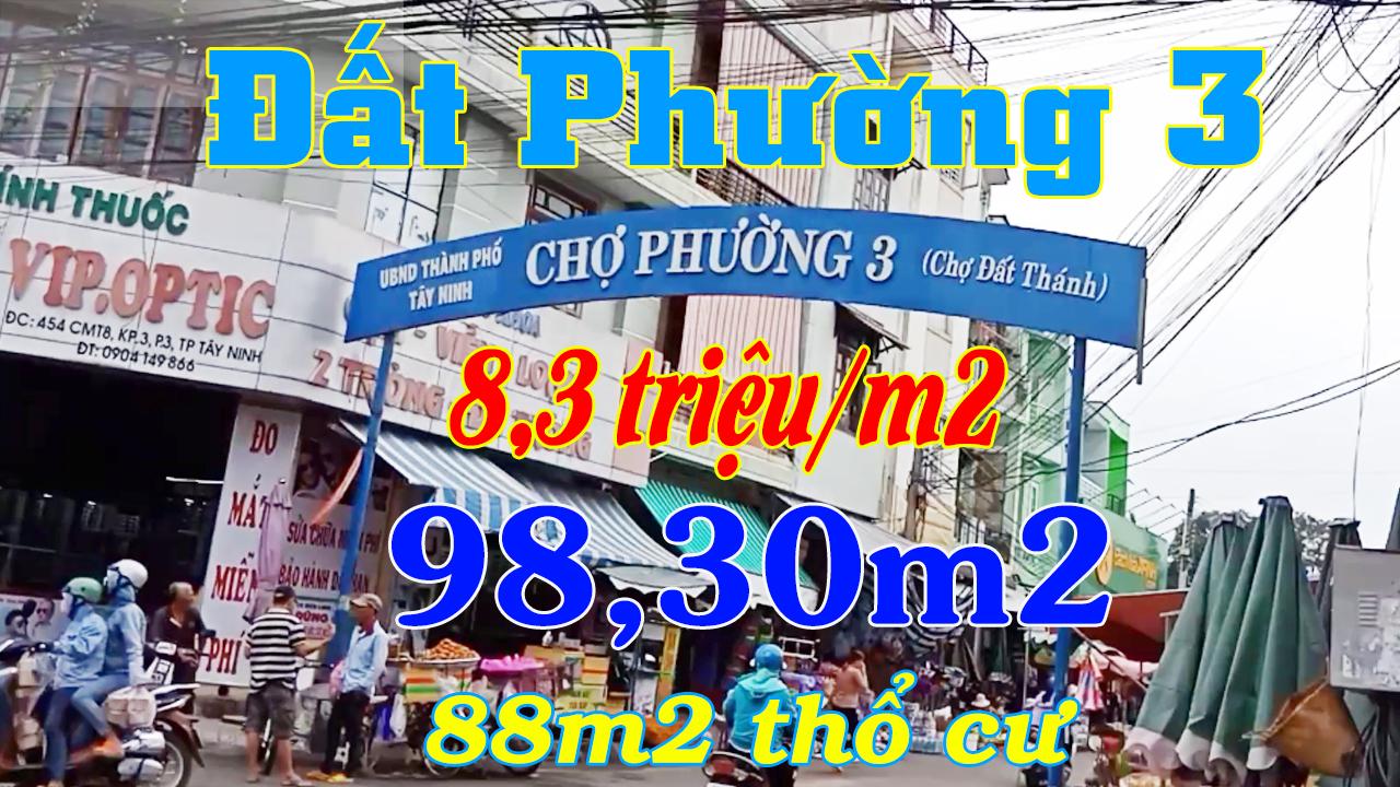 Video Đất Phường 3 TP Tây Ninh