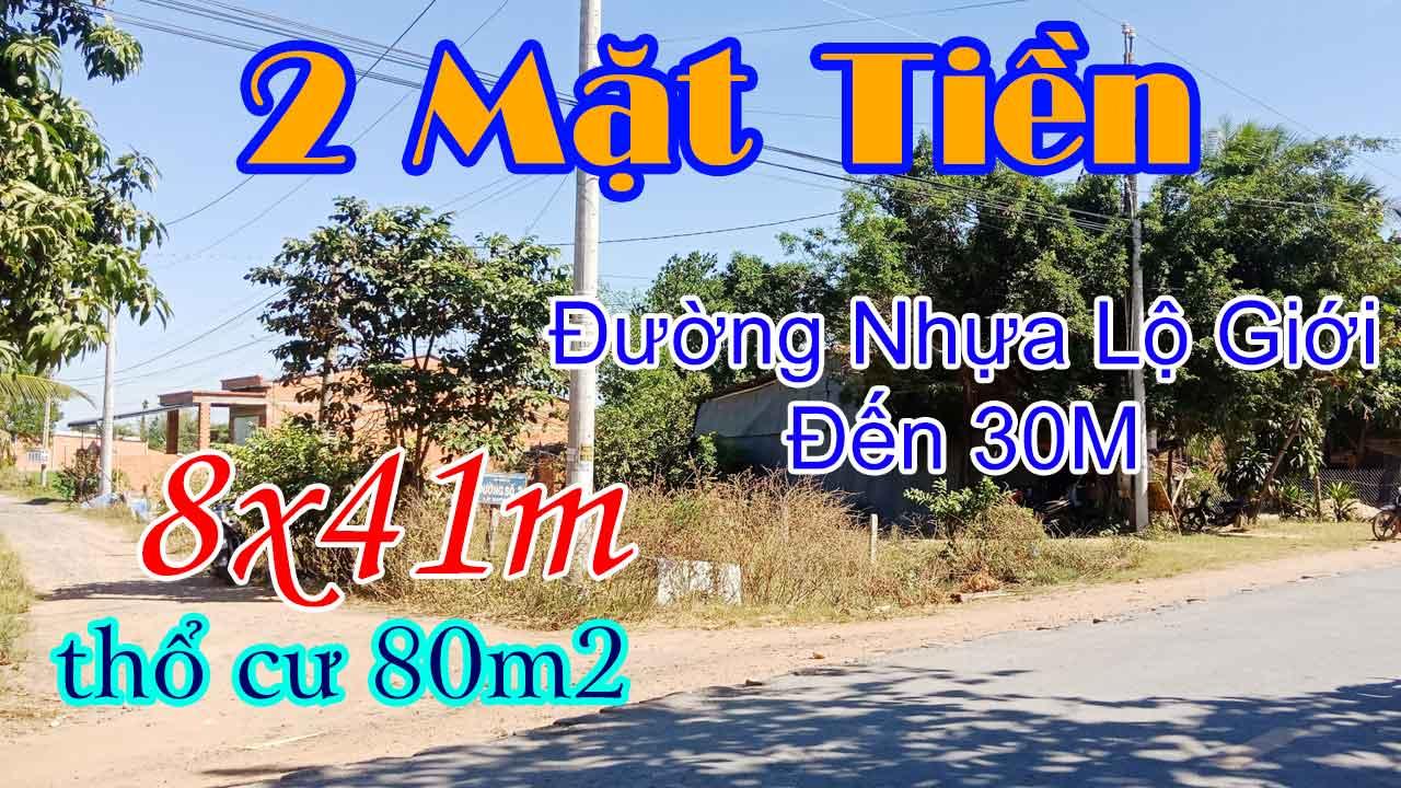 Video Bán Đất Xã Phước Ninh Dương Minh Châu