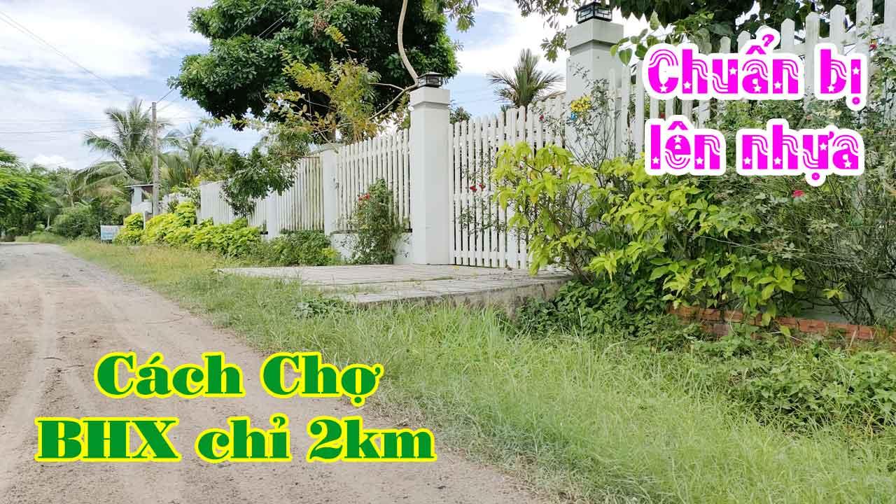 Bán Đất Thị Xã Hòa Thành Tây Ninh Khu Vực Dân Cư Cực Đông