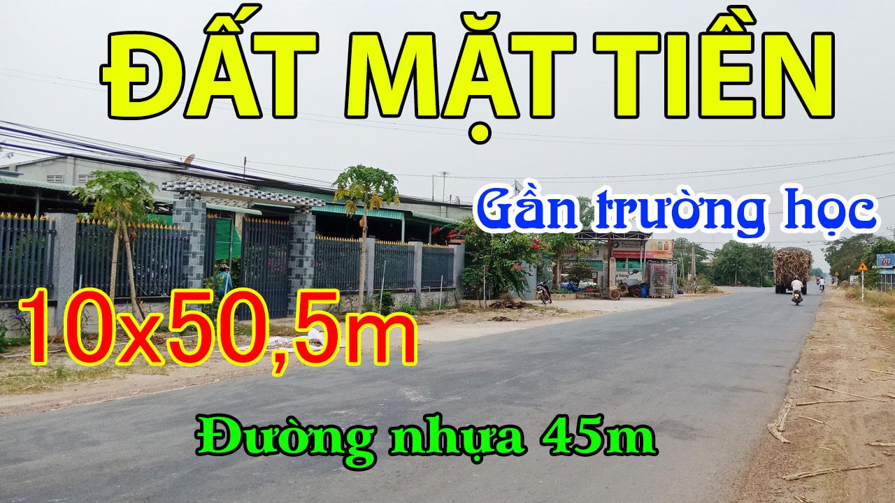 Nhà Đất Tân Châu Tây Ninh Mặt Tiền Kinh Doanh Nhựa 45M Cây Lâu Năm Cần Bán
